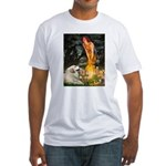 Fairies / Gr Pyrenees Fitted T-Shirt