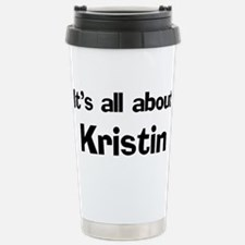 Cute Kristin Travel Mug