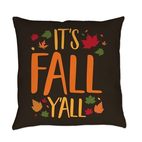 Fall Y'all Pillow