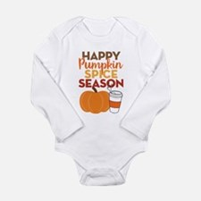 Pumpkin Spice Season Long Sleeve Infant Bodysuit