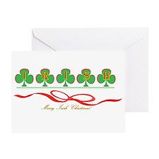 Merry Irish Christmas II Greeting Card