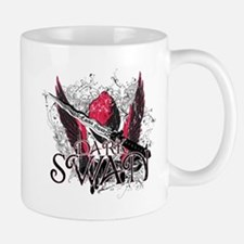 Dark Swan Wings Small Small Mug