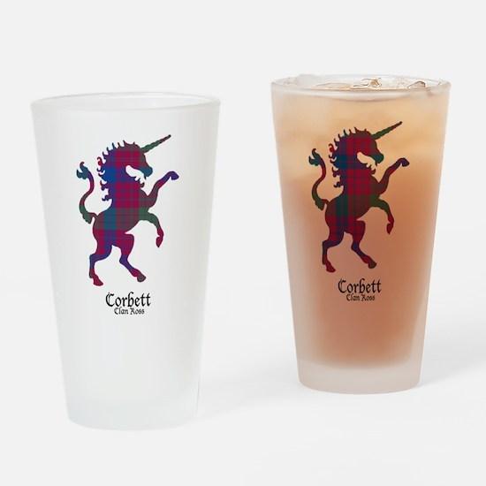 Unicorn - Corbett.Ross Drinking Glass