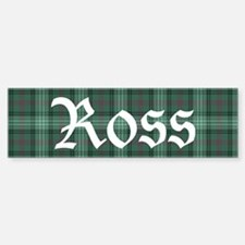 Tartan - Ross hunting Bumper Bumper Sticker