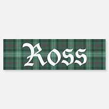 Tartan - Ross hunting Sticker (Bumper)