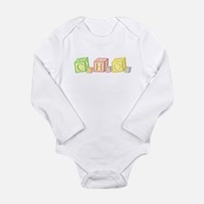Sugar Chemical Forumla Baby Blocks Body Suit