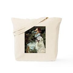 Ophelia / Gr Pyrenees Tote Bag