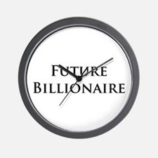 Unique Millionaires Wall Clock