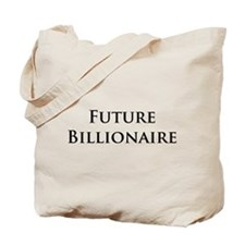 Funny Millionaire Tote Bag