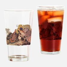 Ruffed Grouse Vintage Audubon Art Drinking Glass