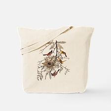 Orchard Oriole Vintage Audubon Art Tote Bag