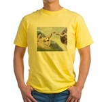 Creation / Gr Pyrenees Yellow T-Shirt