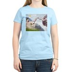 Creation / Gr Pyrenees Women's Light T-Shirt