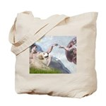 Creation / Gr Pyrenees Tote Bag
