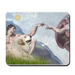 Creation / Gr Pyrenees Mousepad