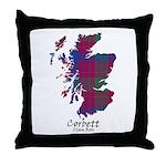 Map - Corbett.Ross Throw Pillow