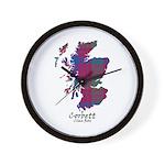 Map - Corbett.Ross Wall Clock
