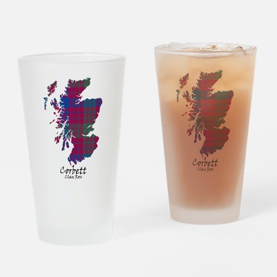 Map - Corbett.Ross Drinking Glass