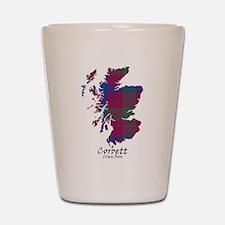 Map - Corbett.Ross Shot Glass
