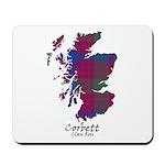Map - Corbett.Ross Mousepad