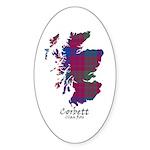 Map - Corbett.Ross Sticker (Oval 50 pk)
