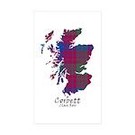 Map - Corbett.Ross Sticker (Rectangle 10 pk)