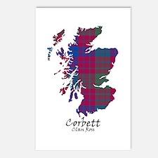 Map - Corbett.Ross Postcards (Package of 8)