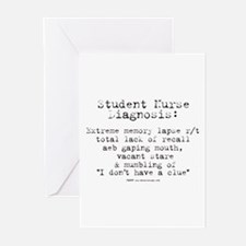 Student Nurse Memory Greeting Cards (Pk of 10)