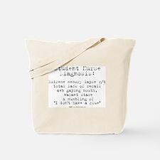Student Nurse Memory Tote Bag