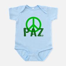 PAZ Peace en Espanol Infant Bodysuit