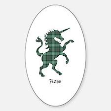Unicorn - Ross hunting Sticker (Oval)