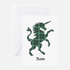 Unicorn - Ross hunting Greeting Card