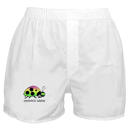 Psychedelic Ladybug Boxer Shorts