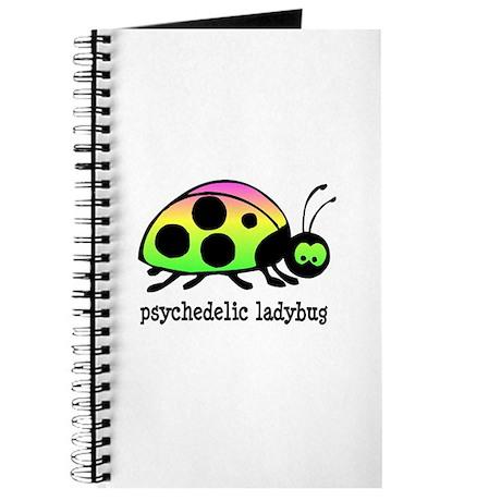 Psychedelic Ladybug Journal