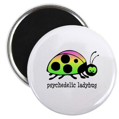 """Psychedelic Ladybug 2.25"""" Magnet (100 pack)"""