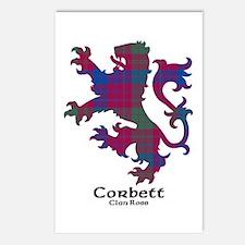 Lion-Corbett.Ross Postcards (Package of 8)