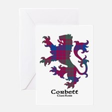 Lion-Corbett.Ross Greeting Card