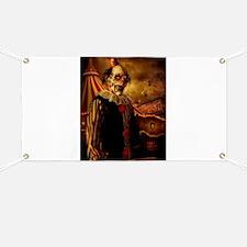 Scary Circus Clown Banner