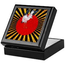 Flying Crane Keepsake Box