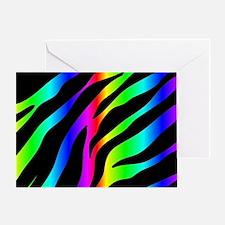 Cute Zebra stripes Greeting Card