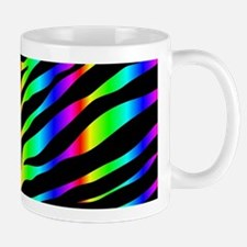 rainbow zebra Mugs