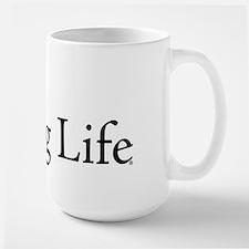 Puppy Pug Life Large Mug