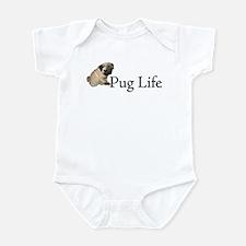 Puppy Pug Life Infant Bodysuit