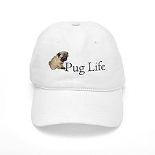 Puppy Pug Life Baseball Cap