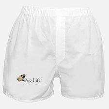 Puppy Pug Life Boxer Shorts