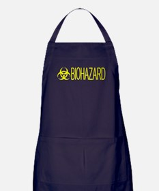 HAZMAT: Biohazard (Yellow) Apron (dark)