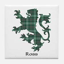 Lion - Ross hunting Tile Coaster