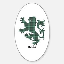 Lion - Ross hunting Sticker (Oval)