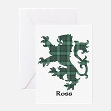 Lion - Ross hunting Greeting Card