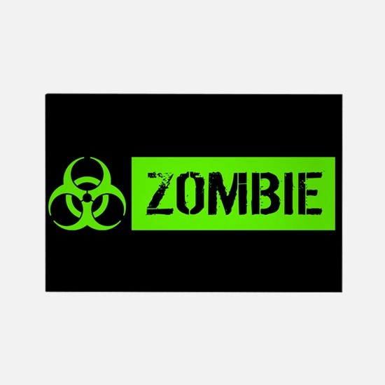 Zombie: Biohazard (Slime Green) Magnets
